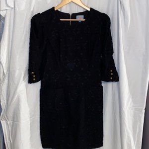 Plenty by Tracy Reese Black Crochet Dress, Size 6